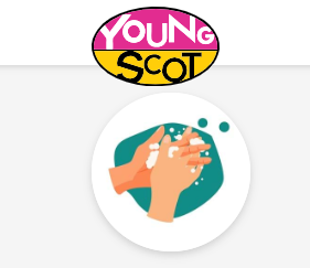 Young Scot Wash Hands